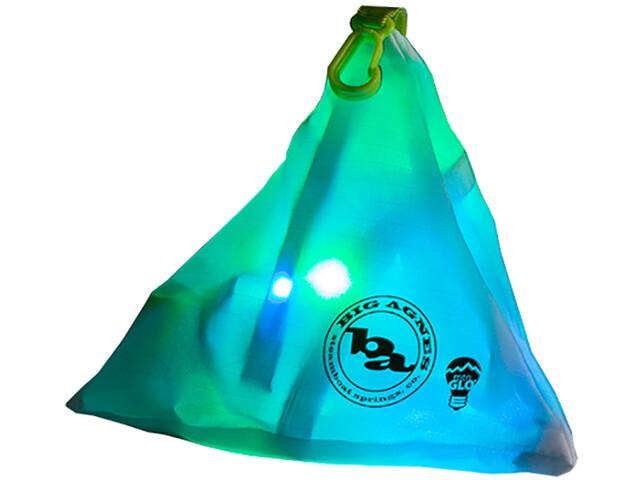 Big Agnes mtnGLO Lampe de camp et de tente, blue/green
